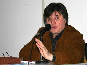 Vicente Lozano, delegado del SUTERyH de Mar del Plata.