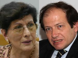 Dr. Jorge Resqui Pizarro y Teresa Villanueva.
