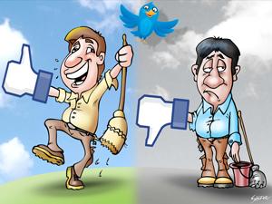 Facebook fue el medio por el cual los encargados hicieron saber su opinión sobre los anuncios de Víctor Santa María.