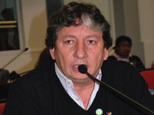 Legislador Raúl Acosta.