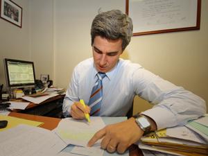Dr. Jorge Martín Irigoyen, asesor letrado de la CAPHyAI.