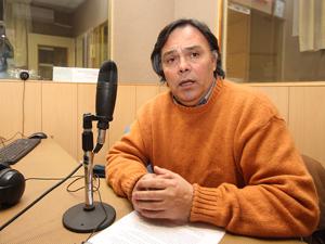 """Jorge """"Nebbia"""" Miño, exintegrante de la Agrupación 20 de Diciembre y presidente de la Cooperativa de vivienda de encargados de edificios y afines Ltda."""