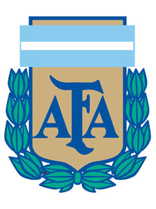 Escudo de la AFA.