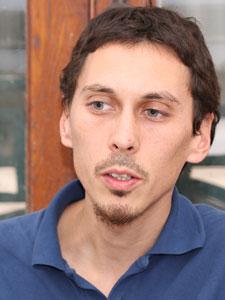 German Schierff, presidente de la Asociación Platense de Inquilinos.