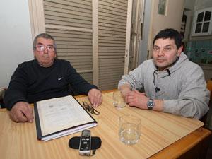Horacio Vivas y Carlos Martinez.