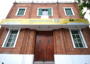 Sede del Registro Público de Administradores en Patricias Argentinas 277 en la Ciudad de Buenos Aires.
