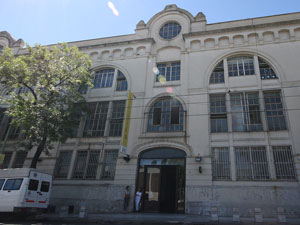 Sede de la Agencia Gubernamental de Control en Tte. Cnel. Juan Domingo Perón 2941.