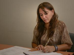 Gabriela Pilar Saldivia, coordinadora del Registro P�blico de Administradores de la CABA.
