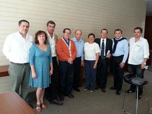 Representantes de entidades de administradores latinoamericanos durante el el IV Encuentro de los Sectores de Propiedad Horizontal de la UITEC.