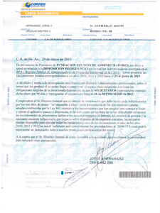 En su carta documento Hern�ndez le pidi� a Gallo que extienda el plazo por 90 d�as.