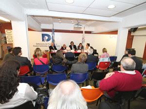 Jornada de Derechos del Consumidor organizado por la Defensoría del Pueblo de la CABA.