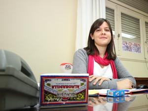 Paula Thierbach, representante del Registro P�blico de Administradores en la CAPHyAI.