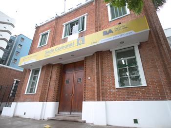 Sede del Registro Público de Administradores de Consorcios porteño en la calle Patricias Argentinas 277.