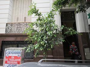 Sede del SERACARH en la calle Juan Domingo Perón 1.885 de esta ciudad.