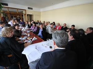 El segundo desayuno de trabajo realizado en la CAPHyAI para definir una acción sobre Expensas Claras.