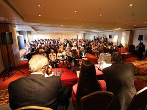 El 1� Congreso Latinoamericano de Administradores de Propiedad Horizontal se desarroll� en un sal�n completo.