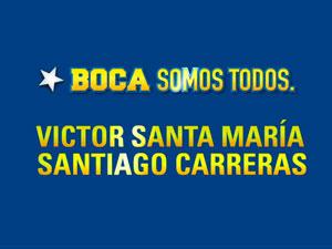 """Gabriel Mariotto: """"Santa María forma parte de un núcleo de gente que quiere un nuevo proyecto para Boca""""."""