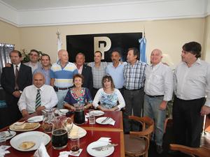 Integrantes de la Comisión Directiva de FAPHRA.