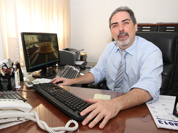 Adm. Marcelo Ruiz, presidente de AIPH [foto de archivo].