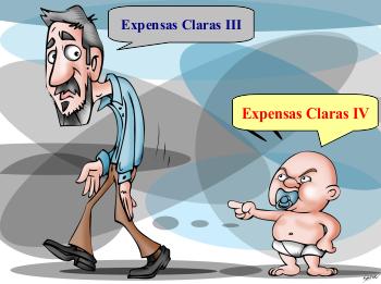 Luego de 166 días de vida Expensas Claras III (Mis Expensas I) se jubila cuando nace Expensas Claras IV (Mis Expensas II).