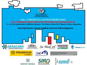 El congreso se llevará a cabo el 11 y 12 de septiembre en el edificio Lahusen ubicado en Paseo Colón 301 de la CABA,