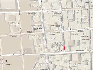 La sede se encuentra a 100 metros de la Av. Callao e igual distancia de la Av. Corrientes.