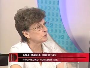 Ana María Huertas, presidenta de la Asociación Civil de Consorcistas de la Propiedad Horizontal de Mar del Plata (ACoPH).