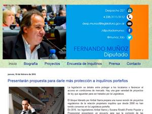 Blog de Fernando Muñoz.