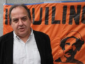 Legislador Fernando Muñoz (Frente Progresista Popular).