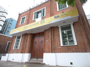 Sede del Registro Público de Administradores porteño en Parque Centenario.