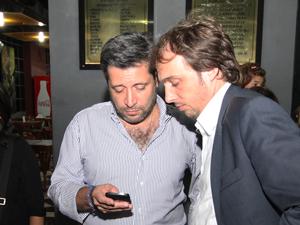 Víctor Santa María (Izq.) y Juan Manuel Gallo.