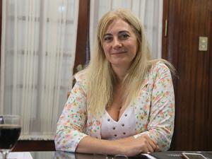 Adm. Cecilia Nájera, presidenta de la Cámara de Administradores de La Plata.