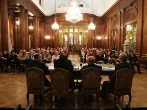 El acto se realizó en el Salón San Martín de la Legislatura porteña.