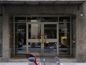 Sede de la Superintendencia de Riesgos del Trabajo en la calle Bartolome Mitre 751 de la CABA.