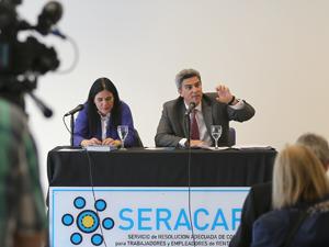 La disertación de Jorge Martín Irigoyen en la UMET.