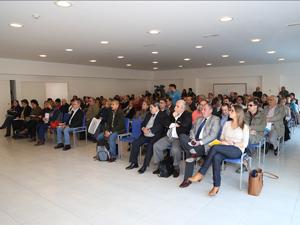 En la primera fila: la Dra. Paula Scauzillo, el Adm. Miguel Ángel Summa y el Adm. Daniel Tocco.