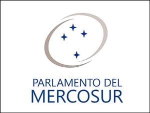 Bandera del Parlamento del Mercosur.