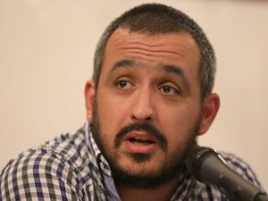 Eduardo Nasif representando a la Asociación Trabajadores del Estado y a la Junta Interna Ambiente y Espacio Público.