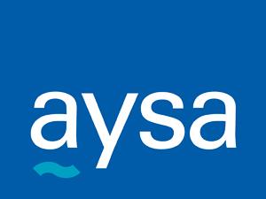 Logo de Agua y Saneamientos Argentinos SA.