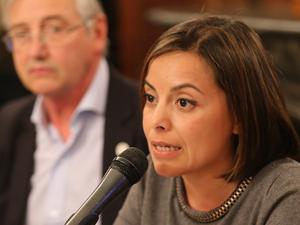 Soledad Sede, coordinadora de la campaña de Basura Cero de Greenpeace en Argentina.
