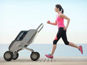 SmartBe es un cochecito inteligente para bebés que se puede manejar mediante el celular.