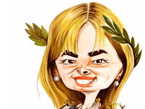 Senadora María Laura Leguizamón.