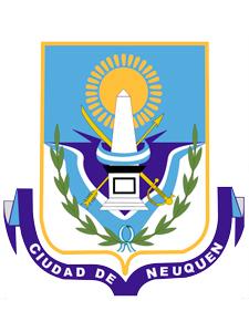Escudo de la ciudad de Neuquén.