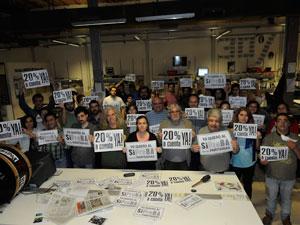 """El diario digital Letra P denunció que """"el sindicalista no traslada a sus empleados la lucha por los derechos de los trabajadores""""."""