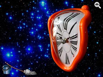 Paritarias: el tiempo se estira en un universo de inflación.