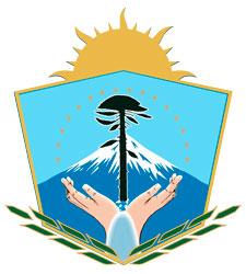 Escudo de la provincia de Neuquén.