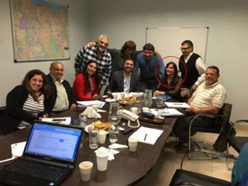 Saldivia, el 13 de abril en la Red Sindical de Escuelas de Formación Profesional según publicaron en su sitio Web.