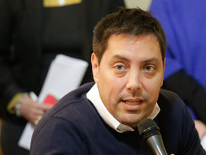 Diego Mariano García De García Vilas, uno de los tres legisladores que solicitó informes.