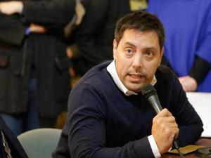 Diego García de García Vilas, uno de los tres legisladores que presentaron la iniciativa.