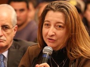 Leg. María Rosa Muiños, autora de la iniciativa
